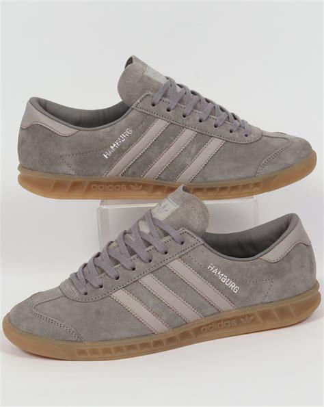 adidas hamburg original adidas hamburg trainers grey granite clear originals mens