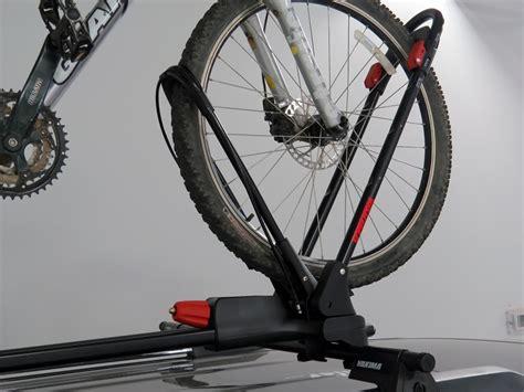 Wheel Bike Rack by Yakima Frontloader Wheel Mount Bike Carrier Roof Mount