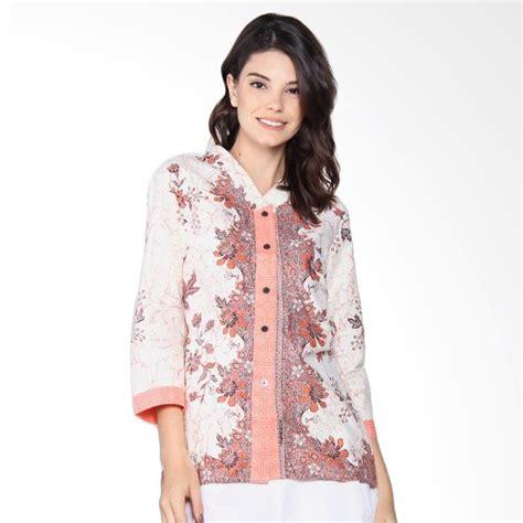 Atasan V Bunga jual jogja batik blus motif bunga melati atasan wanita