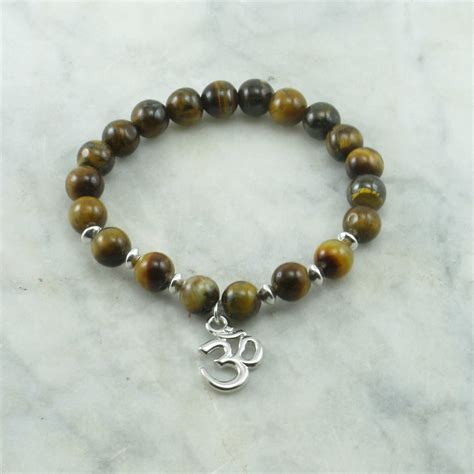 balance mala bracelet 21 tiger eye mala