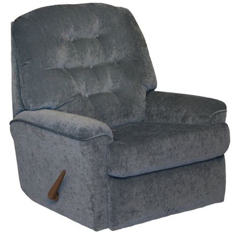 Small Rocker Recliner by Piper Small Scale Rocker Recliner Chair In Sky 42192171943