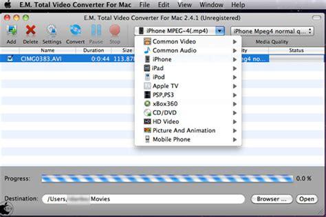effectmatrix complete solution for video conversion on effectmatrix ltdの動画変換ソフト e m total video converter for