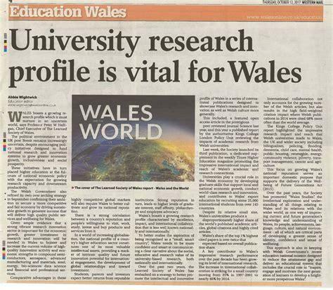 what are the overarching themes of the crucible making the case for wales the learned society of wales