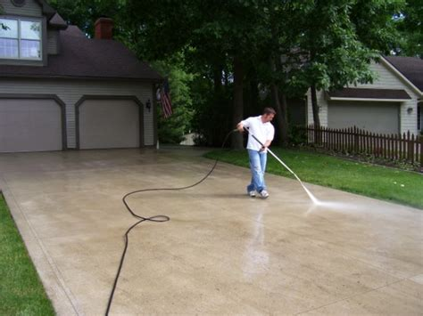 how to get those stains out of your driveway rentals in