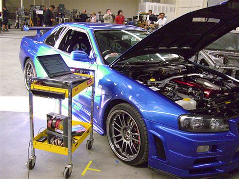 nissan skyline fast and furious 7 paul walker s fast and furious r34 nissan gt r up for sale