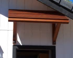 Patio Door Awning Plans Wood Porch Awnings Placerville Cabinets Outdoor