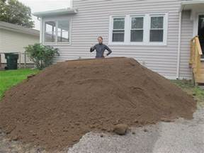 How Much Is A Yard Of Topsoil Ordering Yards Of Dirt Merrypad