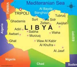 Libya World Map by Libya Road Map Libya Maps Road Maps Of Libya Detailed