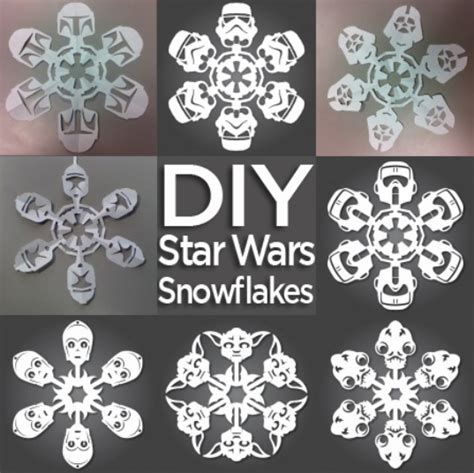 star wars snowflake template playbestonlinegames