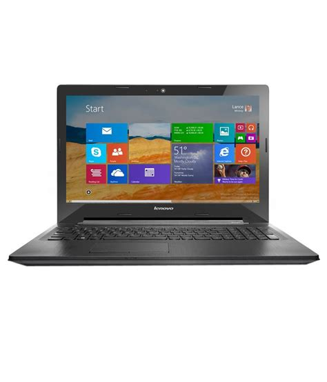 Laptop Lenovo Amd A8 Ram 4gb lenovo g50 80e3014fin notebook amd a8 4gb ram 500gb hdd 39 62cm 15 6 windows 8 1