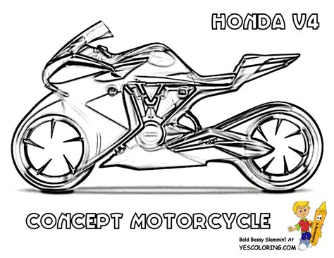 coloring pages of cars and motorcycles free motorcycle coloring pages