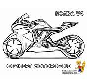 Fierce Free Motorcycle Coloring Pages Suzuki