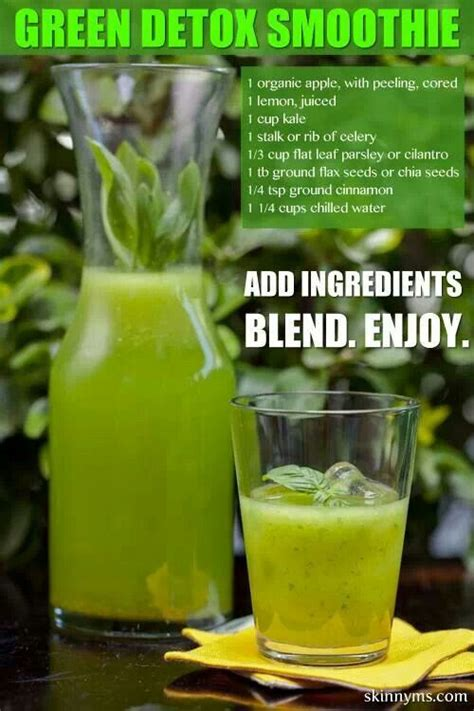 Green Juice Detox Diet Recipe by Green Detox Smoothie Smoothies