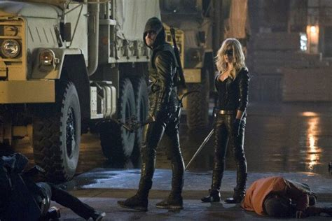 black canary arrow season 2 arrow season 2 photos of the vigilante and black