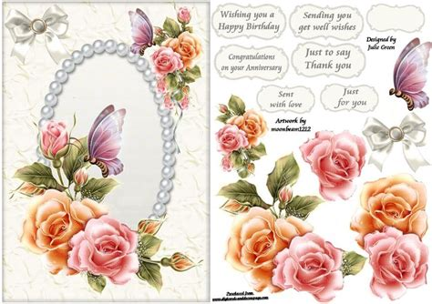 Free Decoupage To Print - free printable decoupage card templates search