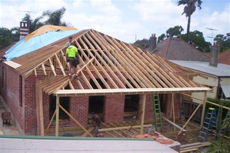 Hip Roof Extension Roof Extensions Architects The External Surface Is