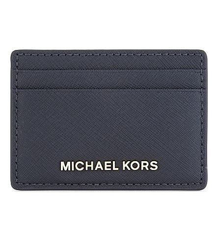 Card Holder Mk michael michael kors jet set travel leather card holder