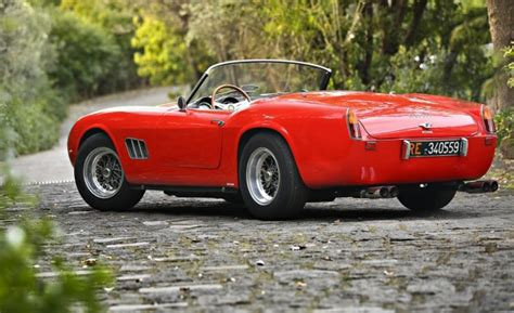 ferrari california 1961 1961 ferrari 250gt swb california spider headed to auction