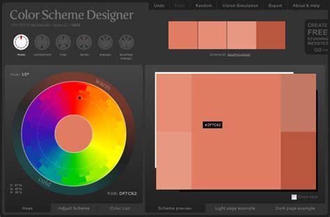 color scheme designer color scheme designer home peenmedia com