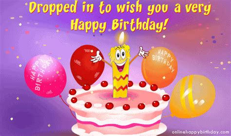 Wish Ua Happy Birthday Dropped In To Wish You A Happy Birthday Pictures Photos