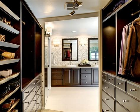 master bedroom with walk in closet and bathroom walk through closet design pictures remodel decor and
