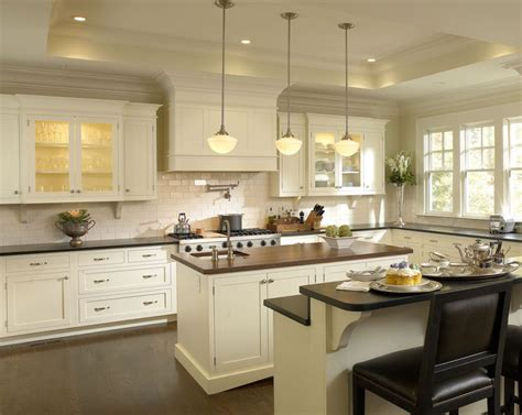 Kitchen Dining Backsplash Ideas For White Themed Kitchen White Cabinets