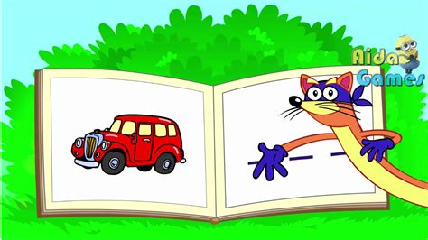 Dora The Explorer Swiper S Spelling Book Game For Kids