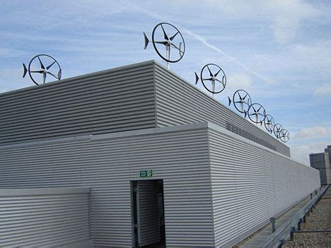 another option in home wind turbines the rooftop