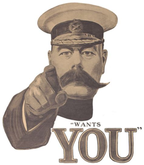 Lord Kitchener Poster Make Your Own by Schools Recruitment