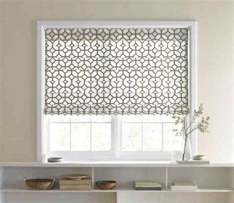 Tropical Home Decor Fabric 20 roman shades designs to spruce up your windows