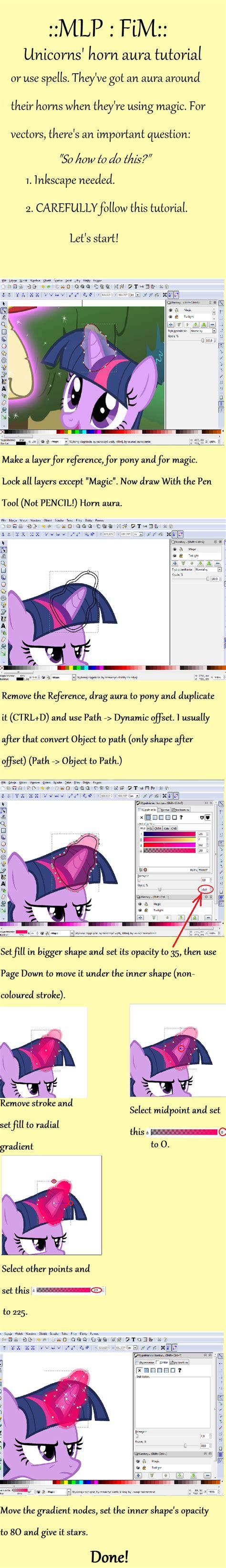 tutorial vector magic pdf mlp vector tutorial horn aura magic by rainyhooves on
