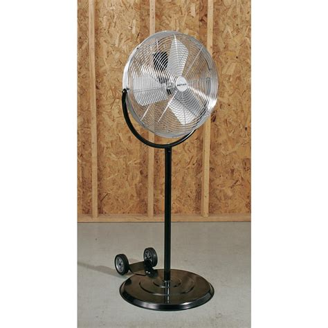 patton industrial fans parts patton 174 20 quot industrial pedestal fan 101412 garage