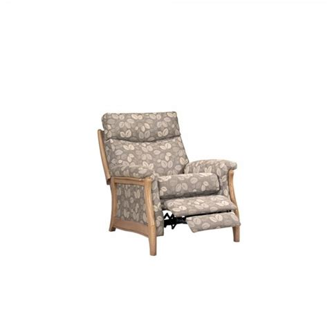 dine and recline richmond va cintique richmond manual recliner in leather at smiths the