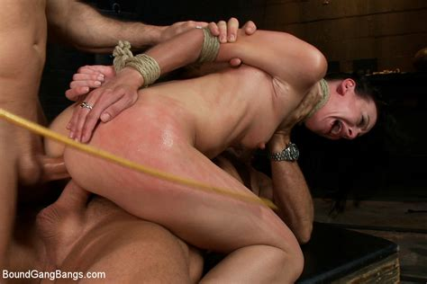 Sexpreviews Elise Graves Finds Herself Bound In Basement And Used As Sex Toy By Random Men