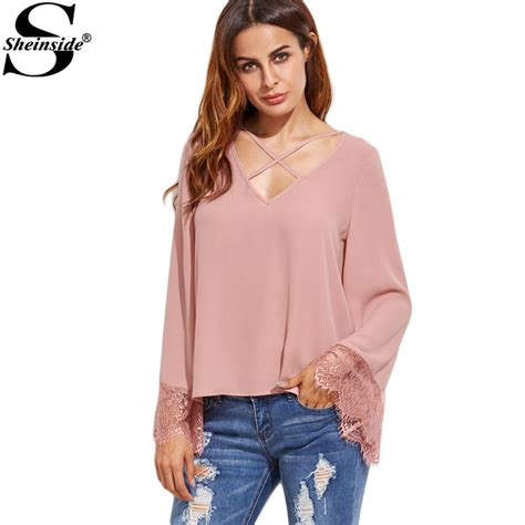 Korean Blouse blouse fashion picture more detailed picture about sheinside sleeve shirts blouses