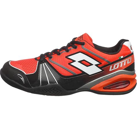 lotto stratosphere speed s tennis shoe redwarm black