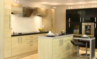 designs of kitchen furniture designs modern kitchen design with wooden furniture and
