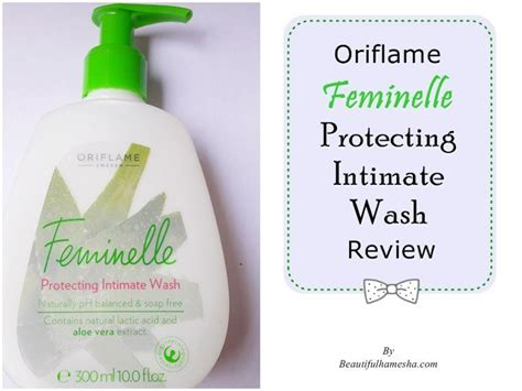 Feminelle Mild Intimate Wash oriflame feminelle protecting intimate wash review
