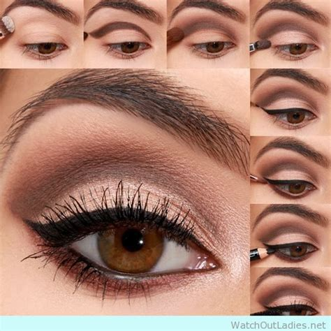 Eyeliner Make Up 18 brown eyed make up tutorials with eyeliner details