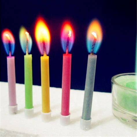 colored tims colored candles 187 gadget flow