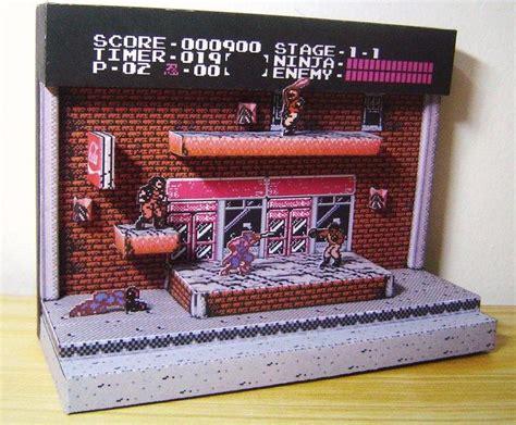 Papercraft Diorama - gaiden papercraft diorama papercraft