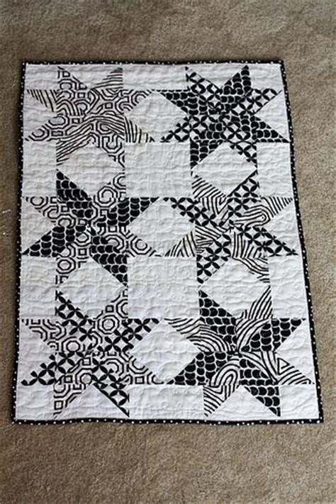 black and white star quilt pattern 17 best images about quilts black and white on pinterest