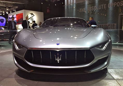 maserati alfieri white best selling cars blog 187 france paris auto show 2014