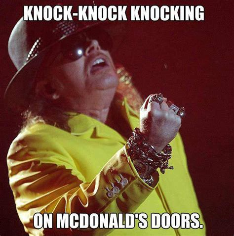Axl Rose Meme - fat axl rose know your meme
