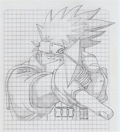 imagenes para dibujar a lapiz de kakashi kakashi hatake por atzukhy dibujando