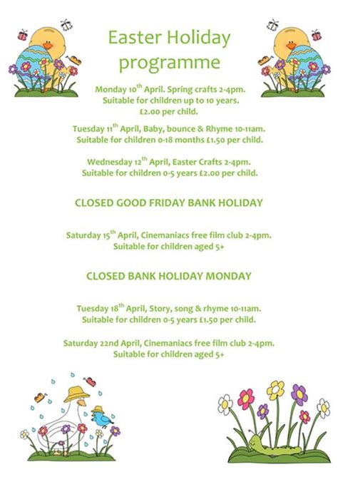 what to do during easter holidays easter crafts during easter at redditch library in