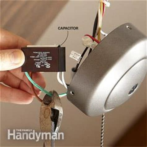 how to install a ceiling fan remote family handyman