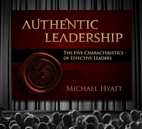 authentic leadership   characteristics