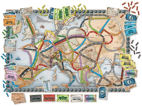 Ticket To Ride Germany Original Board ticket to ride europe oxford