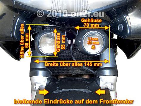 Zusatzscheinwerfer F R Motorrad by Zusatzscheinwerfer Motorrad T 252 V Automobil Bau Auto Systeme